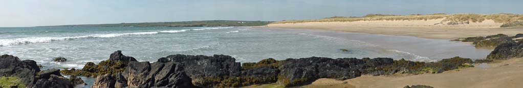 Aberffraw Bay, Anglesey. A fine beach & botanically outstanding dunes